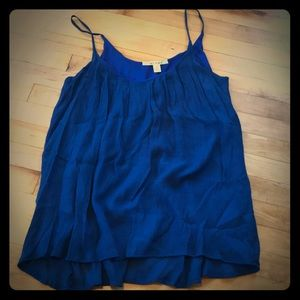 Royal blue tank